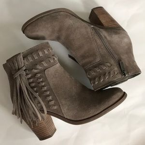 Jessica Simpson Chassie Suede Ankle Boots